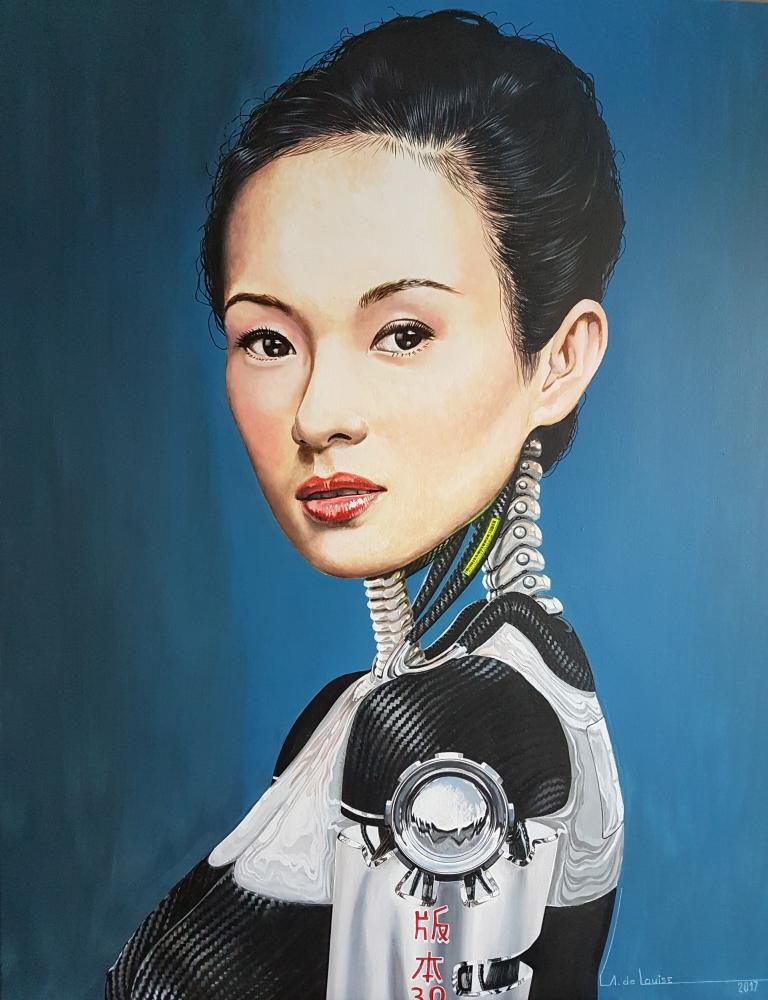 Zhang Ziyi by alainmetisse